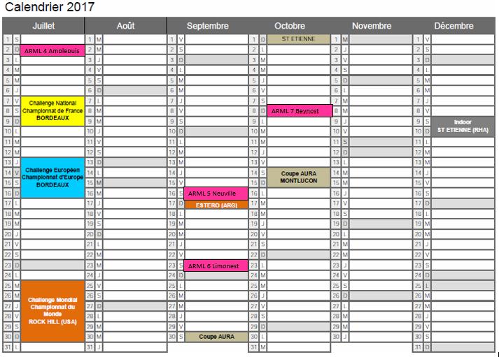 Calendrier BMX 2017'