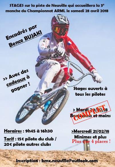 course bmx neuville